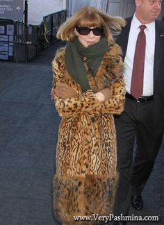 Image result for anna wintour green scarf