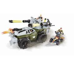 True Heroes - Véhicule blindé d'assaut avec lance-missiles