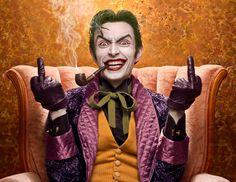 Character: Joker / From: DC Comics 'Batman' & 'Detective Comics' / Cosplayer: Anthony Misiano (aka Harley's Joker) Dc Cosplay, Joker Cosplay, Best Cosplay, Cosplay Style, Cosplay Ideas, Joker Pics, Joker Art, Joker Joker, Joker Comic