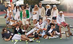 location ideas on tennis courts baseball or football fields with team? or during practice ?