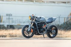 The Outlaw: turning the Suzuki Bandit 600 into a modern-day cafe racer. - Bike EXIF