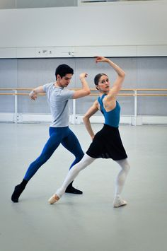 Federico Bonelli and Marianela Nunez in rehearsals for Metamorphosis: Titian 2012. © ROH/The Ballet Bag by Royal Opera House Covent Garden, via Flickr