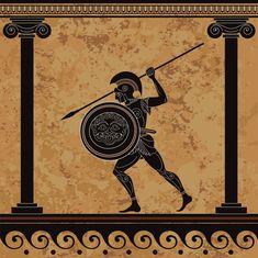 Greece Mythology, Greek Mythology Art, Ancient Greek Art, Ancient Greece, Egyptian Drawings, 8th Grade Art, Surreal Artwork, Greek Pottery, Art Antique