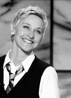 I find Ellen such an inspiration because she has a big heart, is selfless and she is always helping out others and does so much for animals. She is an awesome person!!