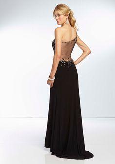 3a667c3a7 22 mejores imágenes de Vestidos largos negros de fiesta. Black party ...