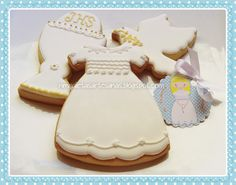 First Communion Cookies N.M. Galletas Artesanas