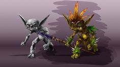 Creating a Goblin Concept in Photoshop: http://www.digitaltutors.com/11/training.php?pid=1138