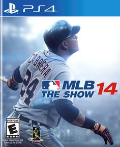 MLB 14 The Show makes its world debut on PlayStation 4 today since it was launched over a month ago on and PS Vita. Games For Playstation 4, Ps3 Games, Xbox 360, Emerson, Consoles, Just Dance 3, Sony, Mlb The Show, New Mode