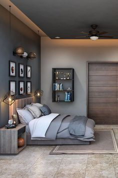 Elegant Bedroom Design, Room Design Bedroom, Bedroom Setup, Kids Bedroom, Diy Bedroom Decor, Home Decor, College Room Decor, Contemporary Bedroom Furniture, My Room