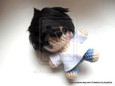 Amigurumi Chibi Doll : Kakashi crochet doll by abaoabao.deviantart.com on @deviantart