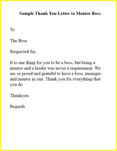 Thank You Message To Boss For Gift : thank, message, Thank, Letter, Ideas, Boss,, Letter,, Yourself