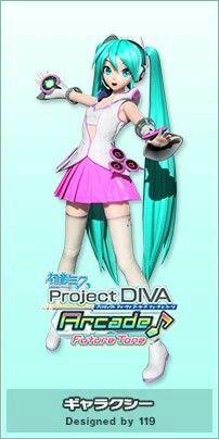 初音ミク Project DIVA: Future Tone Arcade • ギャラクシー (Galaxy)
