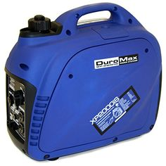 DuroMax XP2000iS 2000W Gas Powered Digital Inverter Portable Generator, Blue