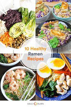 10 Healthy Ramen Rec