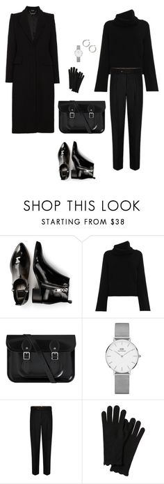 """Black days"" by ishutova on Polyvore featuring Dolce Vita, Chloé, Daniel Wellington and Alexander McQueen"