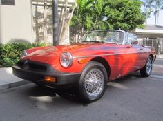 1976 MG, B  Very straight one owner car. A wonderful original example that runs and drives perfectly with the very desirable factory Overdrive. Looks great with excellent wire wheels and period correct luggage rack.  http://www.collectioncar.com/detailed.php?ad=61183&category_id=1