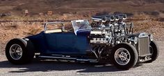 """This 1927 Ford Model T is largely known as """"Double-Trouble."""" It is placed on a custom-built tube chassis that's produced from tube. Buick Riviera, Burning Wheel, Counting Cars, T Bucket, Custom Choppers, Big Muscles, Ford Models, Car Show, Custom Cars"""