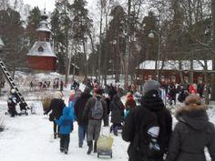 winter in Seurasaari Helsinki, Finland, Winter, People, Winter Time, People Illustration, Winter Fashion, Folk