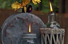 10. Repurposed Lamps