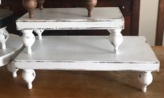 Antique Farmhouse, Farmhouse Style, Farmhouse Decor, Bed Stand, Serving Tray Decor, Bed Tray, Wood Pedestal, Decorating Coffee Tables, Charcuterie Board
