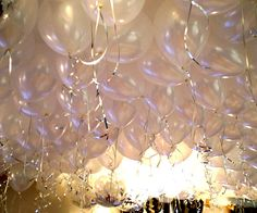 Instead of drapings, helium baloons are much cheaper and can be 'dressed up/down' to fit theme