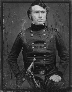 "That's a different perspective of him. (""Franklin Pierce - President of the United States - taken in 1847 during the Mexican War. Mexican American War, American Civil War, American History, Presidential Portraits, Presidential History, American Presidents, Us Presidents, Alfred The Great, Us History"