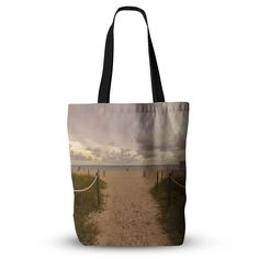 """Rosie Brown """"Walkway To Heaven"""" Coastal Photography Everything Tote Bag from KESS InHouse"""