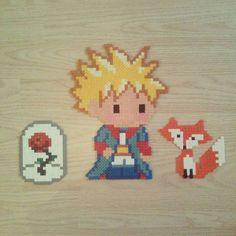 The Little Prince hama beads by darkmaman
