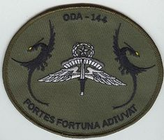 1st Special Forces Group Pocket Patches Operational Detachment A-144 A Company, 2nd Battalion