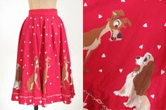 50s+Red+Disney+Dog+Lady+and+The+Tramp+Love+Heart+by+snootieseconds
