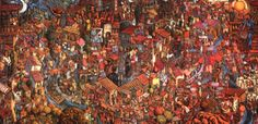 Dedicated to Pirosmani - Koka Ignatov, Georgian Artist born on 1937 gn-9.jpg (578×281)