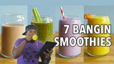 7 Easy, Delicious Smoothies / 7 Batidos Saludables y Ricos