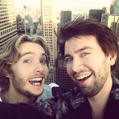 Toby Regbo and Torrance Coombs  LOL