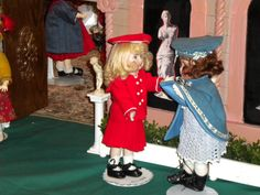 Dolls meeting at the Paris Luncheon.