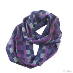 New Accessories - Checkered Infinity Scarf. Handwoven cotton blend scarf. The checkered pattern helps to add a little pop to any outfit!