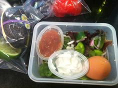 Nutritious and Delicious: Southwest Salad Packable Lunch