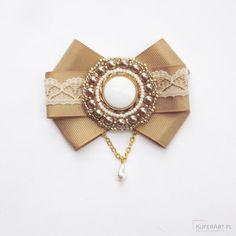 Leokadia stylowa broszka - Broszki - Biżuteria artystyczna