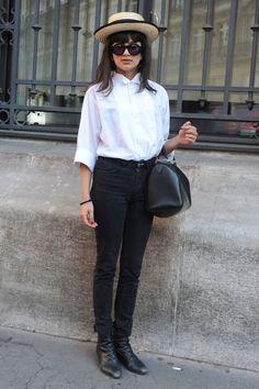 Street Style Paris working girl