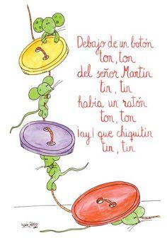 Children's songs by Preschool Spanish, Spanish Lessons For Kids, Spanish Lesson Plans, Elementary Spanish, Preschool Songs, Spanish Activities, Preschool At Home, Spanish Classroom, Teaching Spanish