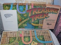 1986 Treasure Trek Board Game Mormon LDS by Daysgonebytreasures, $27.00