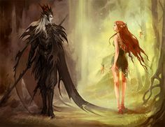Hades and Persephone.  I've loved this one for a long time.