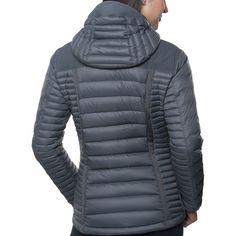 Spyfire Hooded Down Jacket - Women's Mens Down Jacket, Bomber Jacket Men, Vest Jacket, Leather Jacket, Adventure Outfit, Black Puffer, Models, Jackets Online, Winter Wear