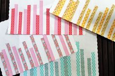Washi Tape for Parties / Fiestas Washi Your Table