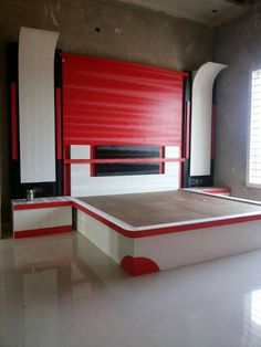 Box Bed Design, Bedroom Bed Design, Bedroom Furniture Design, Bed Furniture, Modern Bedroom, Bedroom Designs Images, 2bhk House Plan, Double Bed Designs, Sewing Sleeves