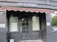 "No. 9 Park, Boston. Behind these modest gray doors is some of the finest food in Boston! As one review says ""The menu showcases an artful blend of regionally-inspired Italian and French dishes with an emphasis on simplicity and flavor."""