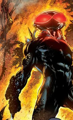 Black Manta by Ivan Reis