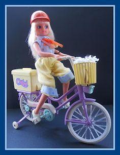Chabel y su bicicleta