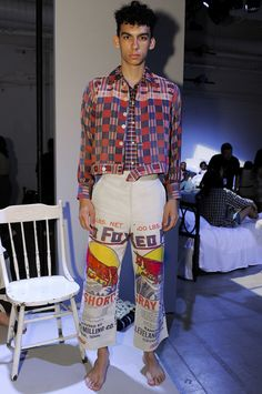 Bode Menswear Spring Summer 2018 New York http://www.99wtf.net/young-style/urban-style/kinds-of-urban-look-t-shirt/