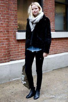new york street style - vogue espana