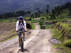 Biking at altitude and sucking wind in Ecuador
